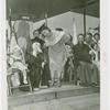 Amusements - Midway Activities - Donald Duck with woman in costume
