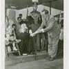 Amusements - Midway Activities - Frank Monaghan conferring degree upon Donald Duck