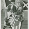 Amusements - Midway Activities - Uncle Sam - Sitting with George Washington