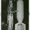 Amusements - Midway Activities - Uncle Sam , with bomb