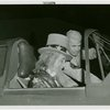 Amusements - Midway Activities - Uncle Sam - Sitting in plane