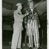 Amusements - Midway Activities - Uncle Sam - With man in uniform