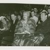 Amusements - Performers and Personalities - Marlene Dietrich clapping in audience
