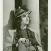 Amusements - Performers and Personalities - Constance Moore in wool coat and hat