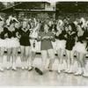Amusements - Performers and Personalities - Jimmie Ellison and girls on ice skates