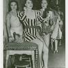 Amusements - Performers and Personalities - Lee, Gypsy Rose - Getting ready with chorus girls