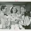 "Amusements - Performers and Personalities - Musicians - Promotional photograph for ""Hawaiian Nights"" Johnny Downs, Constance Moore and Matty Malneck"