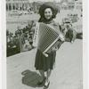 Amusements - Performers and Personalities - Musicians - Woman with accordion