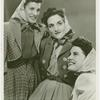 Amusements - Performers and Personalities - Musicians - Andrews Sisters - Group portrait