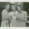 Amusements - Performers and Personalities - Musicians - Andrews Sisters - With three songbirds