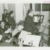 Amusements - Performers and Personalities - Musicians - Guy Lombardo and the Royal Canadians - Grover Whalen introducing orchestra on radio