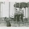Amusements - Performers and Personalities - Musicians - Guy Lombardo and the Royal Canadians - With Lebert and Carmen Lombardo on Parachute Jump