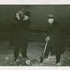 Amusements - Shows and Attractions - Grover Whalen and Richard E. Byrd breaking ground for Penguin Island