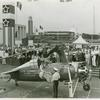 Amusements - Shows and Attractions - Aerial Acts and Airshows - First airplane landing within Fairgrounds