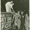 Amusements - Shows and Attractions - Aerial Acts and Airshows - Fox, Betty and Benny - With fans
