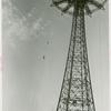 Amusements - Shows and Attractions - Aerial Acts and Airshows - Vess, Ginger - Ascending Parachute Jump