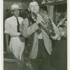 Amusements - Shows and Attractions - Frank Buck's Jungleland - Man with snake