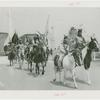 Amusements - Shows and Attractions - Wild West - Indian on horseback