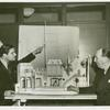 Amusements - Villages - Gay New Orleans - Michael Todd and Hassard Short inspect Old New Orleans model