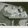 Amusements - Villages - Old New York - Ann Pennington with two men