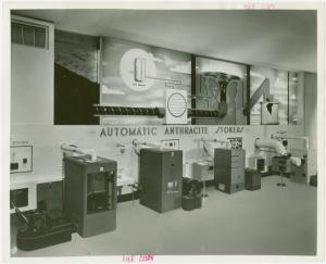 Anthracite Exhibit - Models of automatic anthracite stokers