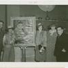 Arizona Participation - John. R Murdock, Mary B. Spalding, Georgia Bemis, Isabella Greenway King and Fiorello LaGuardia with LaGuardia portrait