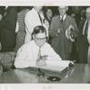 Arizona Participation - Robert Taylor Jones (Governor) signing registry