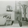 Art - Murals - Home Building Center, Gothic Architecture (Louis Bouche, Allen Saalburg, Everett Henry)