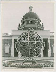 Art - Sculpture - Celestial Sphere (Paul Manship) - Celestial Sphere