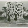 Art - Sculpture - Dances of the Races (Malvina Hoffman) - Girls dancing in front of Dances of the Races