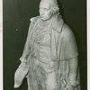Art - Sculpture - George Washington (James Earle Fraser) - George Washington model, close-up