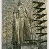 Art - Sculpture - George Washington (James Earle Fraser) - George Washington with scaffolding