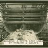 Building a White Star liner at Harland & Wolff's.
