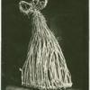 Wedding-dance mask, of plaited straw (Aug. 1893), still used on the west coast of Ireland.