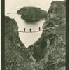 Carrick-a-Rede, rope bridge.