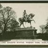 Lord Gough's statue, Phoenix Park, Dublin.