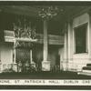 Throne, St. Patrick's Hall, Dublin Castle.