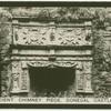 Ancient chimney piece, Donegal Castle.
