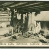 A Teelin farm interior, Carrick, Donegal.