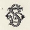 "Spencer Trask's ""ST"" monogram from his stationery"