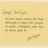 Jenkynisms