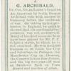 G. Archibald, Lt.-Col. Giles Loder's colours.