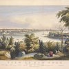 View of New York from Weehawken--North River. [24 names of buildings, etc., on 3 lines]