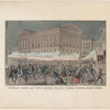 Great riot at the Astor Place opera house, New York on Thursday evening May 10th, 1849
