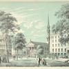 St. Paul's Church, Barnum's Museum, & Astor House. Above: Views of New-York