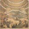 Interior view of the New York Crystal Palace for the exhibition of the industry of all nations. Taken on the first of December 1853. . . Cartstensen & Gildemeister architects, 74 Broadway N.Y.