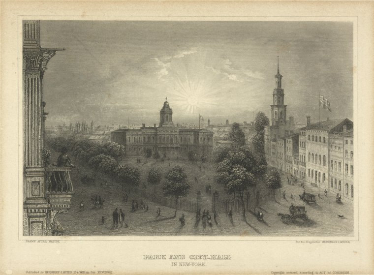 This is What City Hall (New York, N.Y.) Looked Like