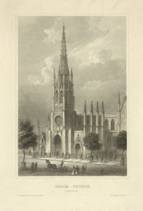 Grace-Church (New York) / aus d. Kunstanst. d. Bibliog. Instit. in Hildbn. ; Eigenthum d. Verleger.