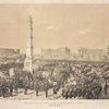 Ceremonies of dedication of the Worth Monument. (Nov. 25, 1857)
