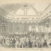 The dining-room of the Fifth Avenue Hotel, on Madison Square
